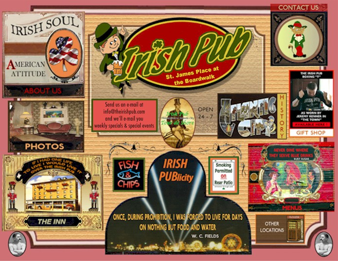The Irish Pub, Atlantic City - America's Greatest Pub!